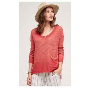 Moth Anthropologie Uptown Ombre Knit Tunic